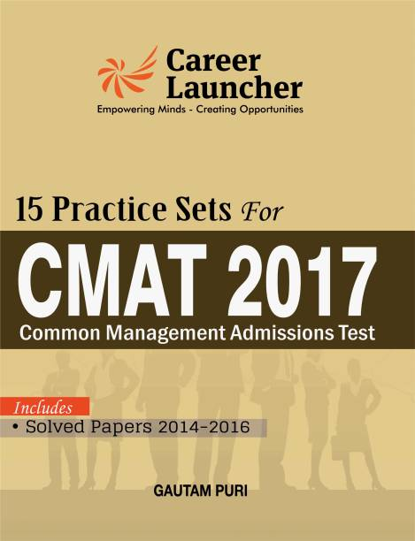 CMAT 15 Practice Sets (Common Management Admission Test) Inclused Solved Papers 2014-2016
