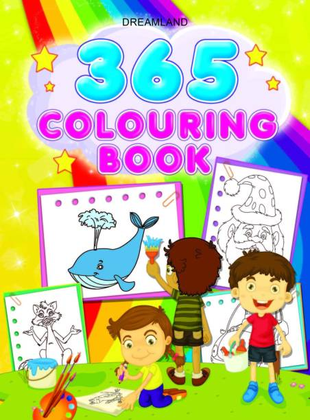 Miss & Chief 365 Colouring Book