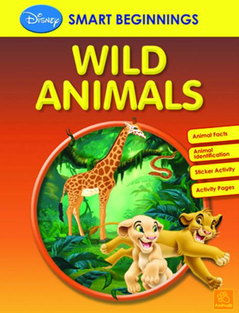 SMART BEGINNINGS WILD ANIMALS by DISNEY-English-PAREKH INTEGRATED SERVICES PVT-Paperback