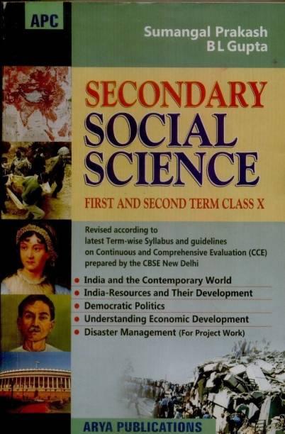 Secondary Social Science (Term 1 & 2) (Class - 10)