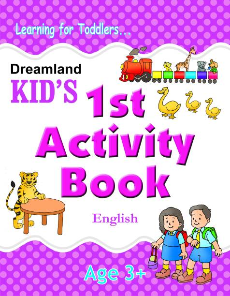 Kids 1st Activity Book