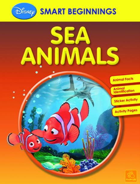 SMART BEGINNINGS - SEA ANIMALS by DISNEY-English-PAREKH INTEGRATED SERVICES PVT-Paperback