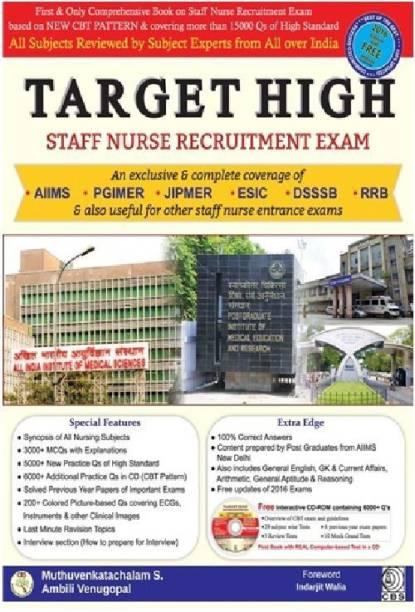 TARGET HIGH : Staff Nurse Recruitment Exam With CD