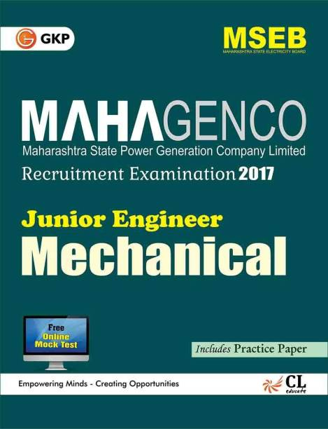 Maharashtra State Power Generation Corporation Ltd. (Mahagenco) Mechanical Engineer (Junior Engineer)