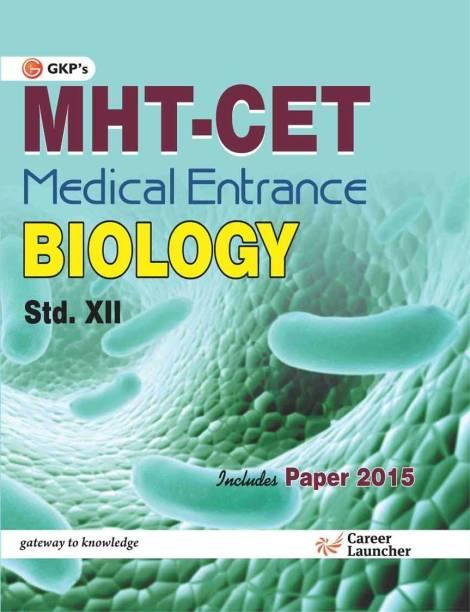 MHT - CET Medical Entrance Biology Std. 12 1 Edition