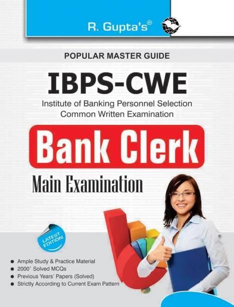 IBPS-CWE : Bank Clerk Main Exam Guide