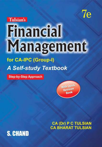 Tulsian's Financial Management for CA-IPC (Group-I)