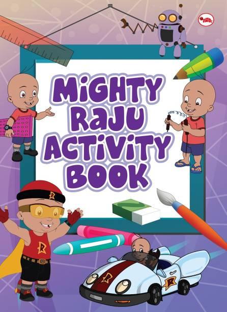 Mighty Raju Activity Book