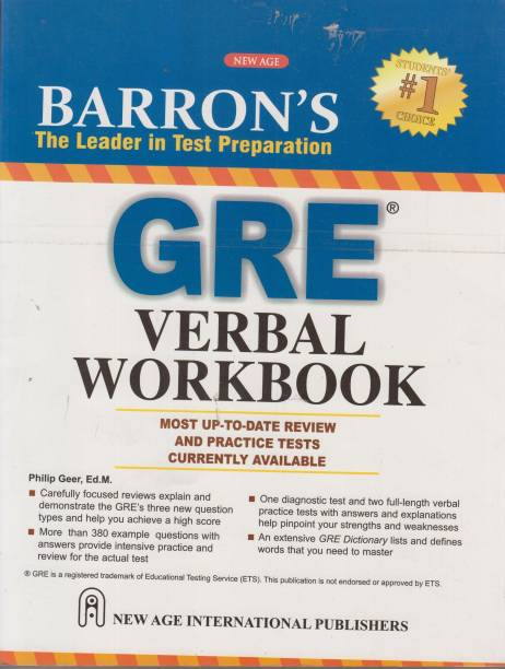 Gre books buy gre books online at best prices indias largest barrons gre verbal workbook 1st edition fandeluxe Images