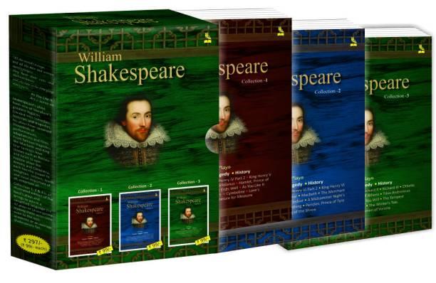 William Shakespeare (set of 3 Books)