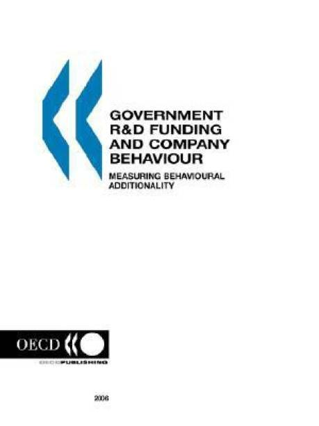 Government R&D Funding and Company Behaviour, Measuring Behavioural Additionality