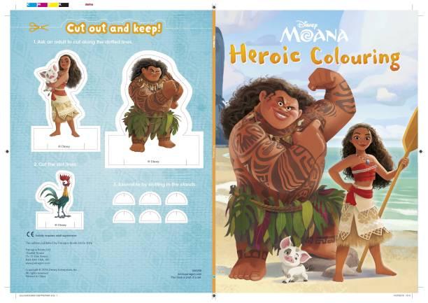 Disney - Moana - Heroic Colouring