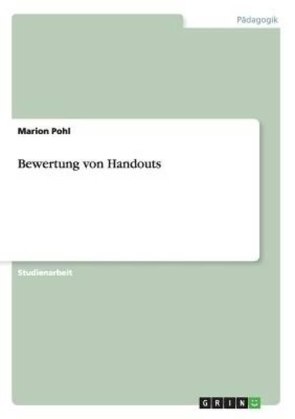 Bewertung von Handouts