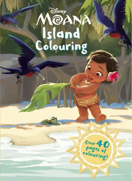 Disney - Moana - Island Colouring