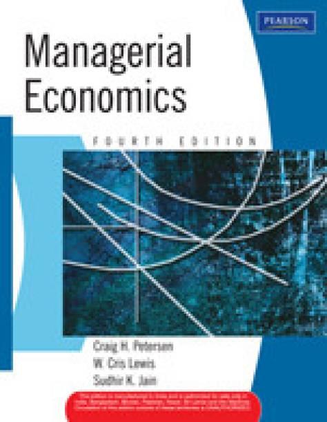 Managerial Economics 4th  Edition