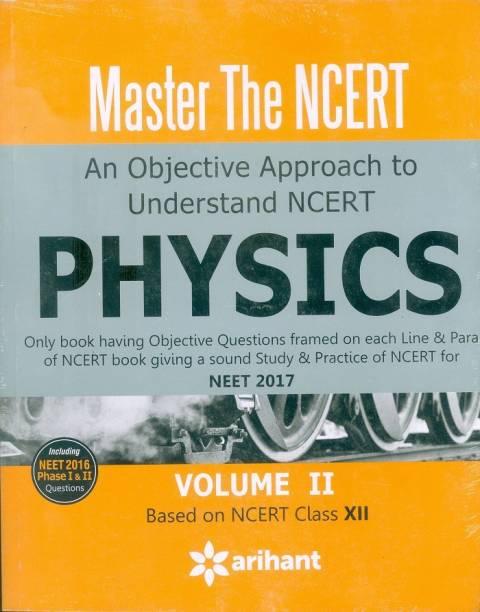 Master the NCERT - PHYSICS Vol.II Single Edition