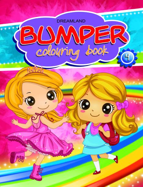 Bumper Colouring Book - 4