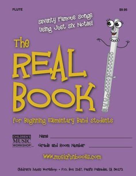 The Real Book for Beginning Elementary Band Students (Flute)