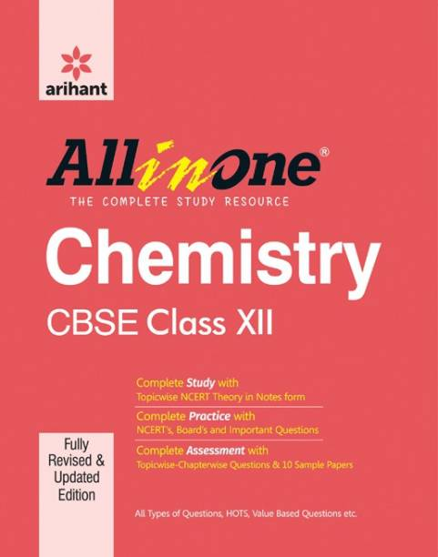 CBSE All in One CHEMISTRY Class 12th