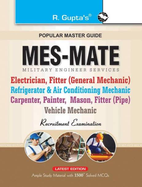 Military Engineering Services (MES): MATE (Electrician, Fitter, Painter, Mason etc.) Exam Guide