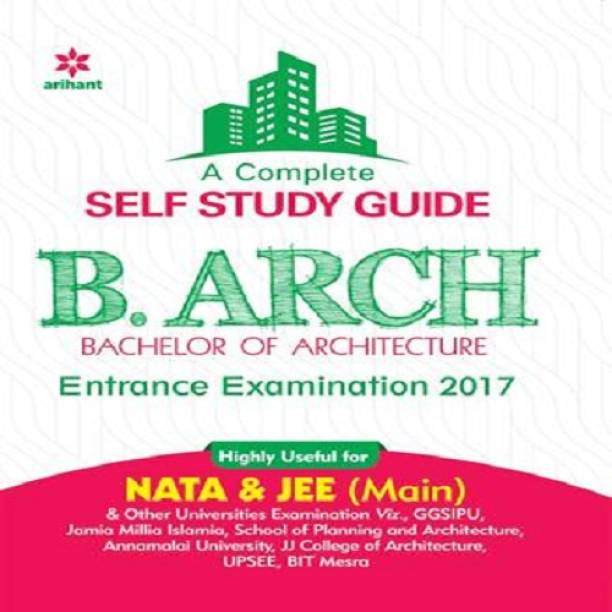 Complete Self Study Guide for B.Arch Entrance Examination 2017