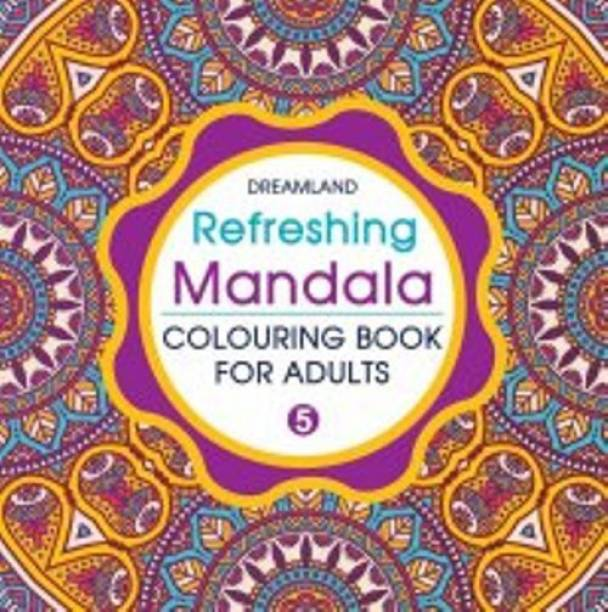 Miss & Chief Refreshing Mandala - Colouring Book For Adults Book 5 (Paperback)