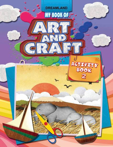 My Book of Art and Craft - Activity Book - 2
