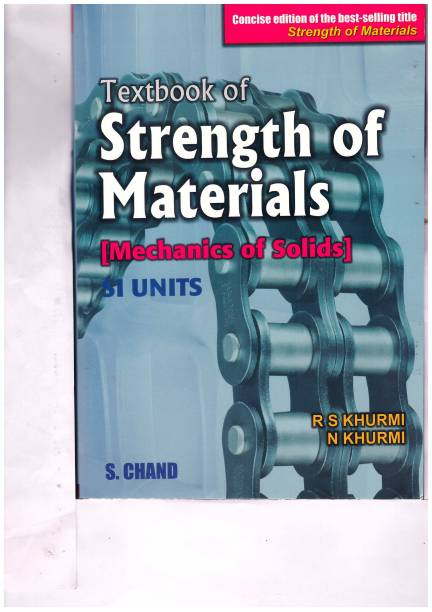 R s khurmi books buy r s khurmi books online at best prices in textbook of strength of material fandeluxe Image collections