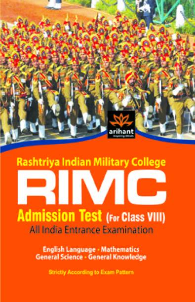 RIMC Admission Test (for Class VIII) All India Entrance Examination 2012 1st Edition