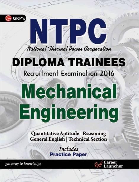 Ntpc Mechanical Engg. 2016 (Diploma Trainees)