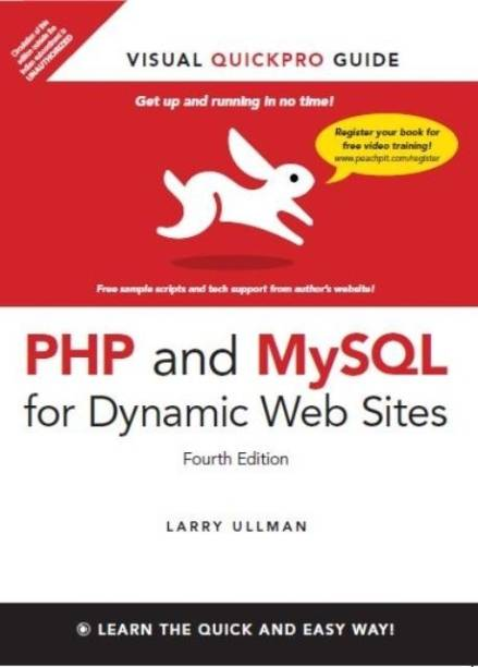 PHP and MySQL for Dynamic Web Sites - Visual Quickpro Guide 4th  Edition