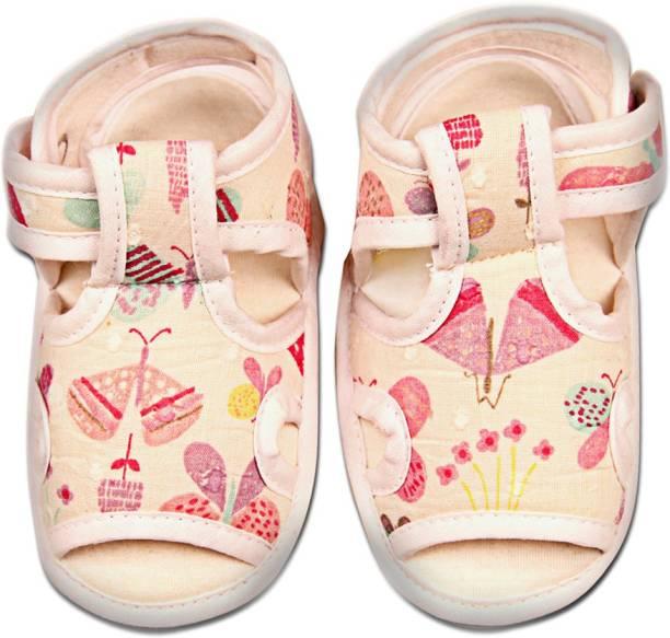 sale sast Kidofy White Fabric Booties ebay sale online 2gJmWG
