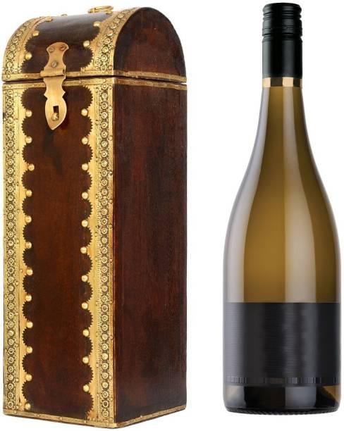 JaipurCrafts Wood Bottle Rack Cellar