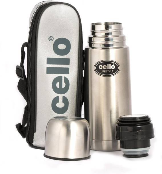 b04725106 Cello Lifestyle Stainless Steel Flask 350 ml Flask