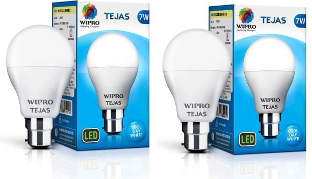Wipro Tejas 7 W Standard B22 LED Bulb