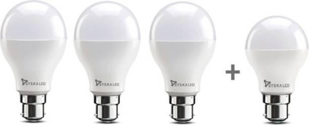 Syska 9 W, 7 W Standard B22 LED Bulb