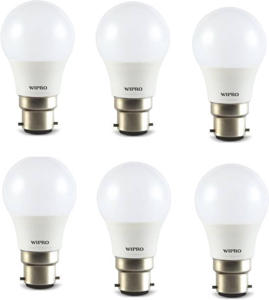 WIPRO 3 W Standard B22 LED Bulb