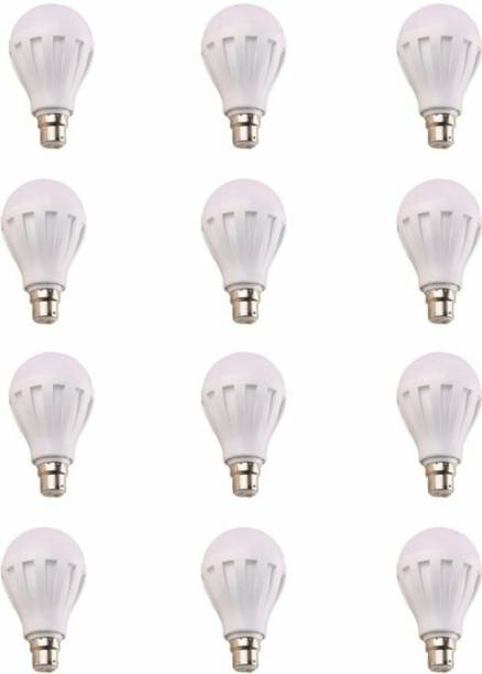 ECO 18 W Round B22 LED Bulb