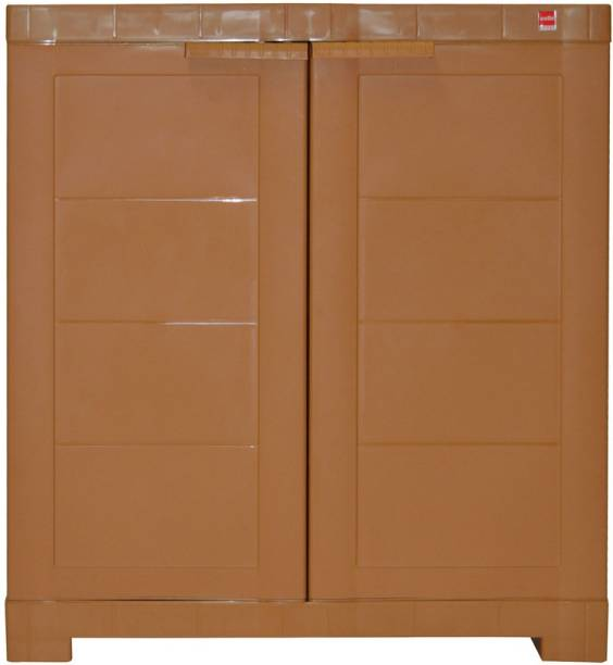 Cello Storage Cupboard Plastic Cupboard Finish Color   Wood