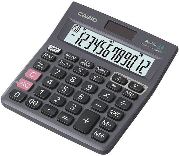 Casio MJ-120D Desktop Basic Calculator