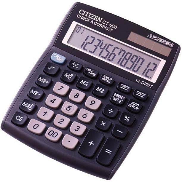 Citizen CT-600J_ CT 600 J_* Basic Calculator