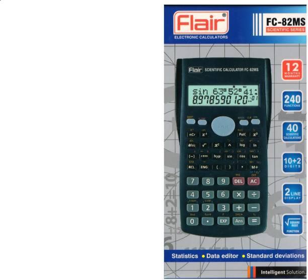 FLAIR FC-82MS FC-82MS Scientific  Calculator
