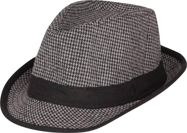 3898f766232 FabSeasons Checkered Fedora Hats Cap