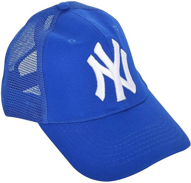 996454bddb9 Creative India Exports Synthetic 3D Embroidery NY Unisex Cap
