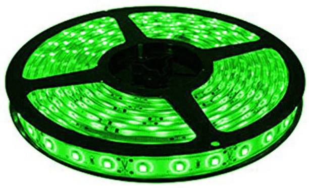 Enfield Works 5 Meters Waterproof Cuttable LED Lights Strip Roll (Green)for Mahindra XUV500 Car Fancy Lights