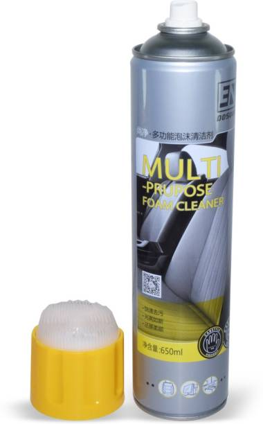 Auto Hub Foam Seat Cleaner Bristle Cleaner with Foam Vehicle Interior Cleaner