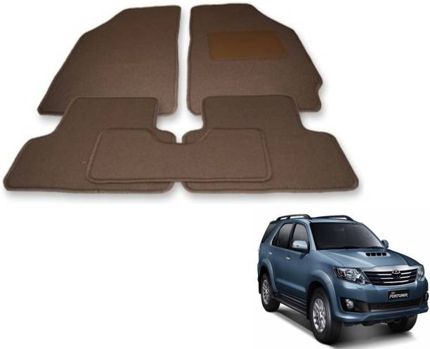 Auto Hub Fabric Standard Mat For  Toyota Fortuner
