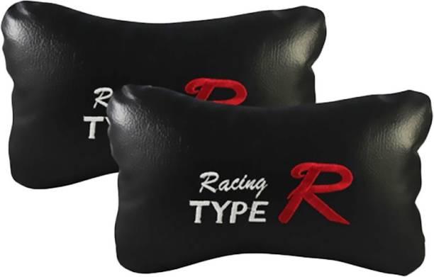 Auto Car Winner Black Leatherite Car Pillow Cushion for Universal For Car