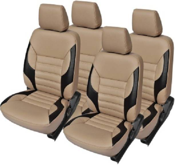 Khushal Leatherette, PU Leather Car Seat Cover For Hyundai Santro