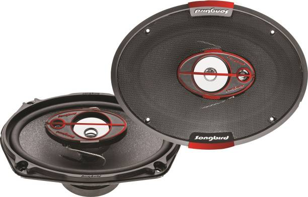 songbird 6''X9'' Oval 550W Max 3 Way SB-B69-76 Coaxial Car Speaker